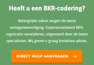 BKR Codering - Dynamiet Nederland